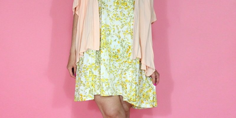 A Stylish Way To Wear Pink This Summer