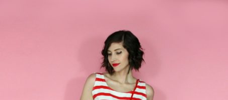Getting Some Color This Summer: A Red & Aqua Outfit Idea