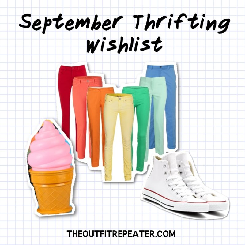august monthly thrift haul video clothing try on hannah rupp the outfit repeater