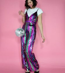 What To Wear on New Years Eve: A Sequin Jumpsuit