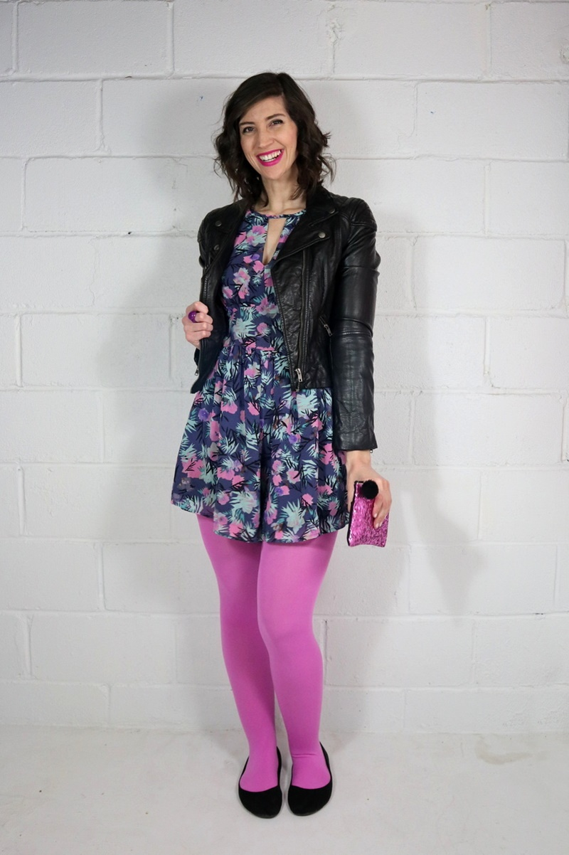 valentine's day outfits pink tights we love colors hannah rupp the outfit repeater