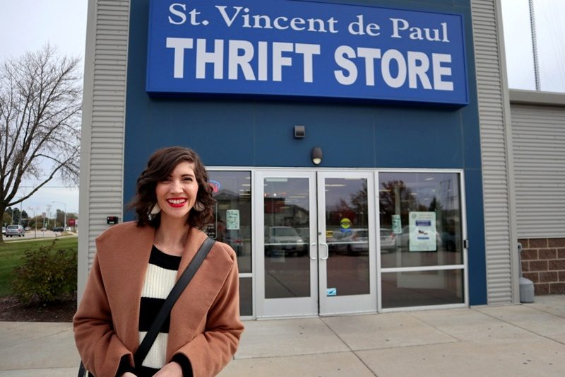 madison wisconsin thrift store review vinnys odana hannah rupp the outfit repeater