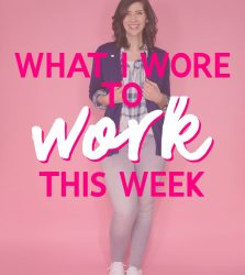 What I Wore To Work This Week | A Rainbow of Outfits