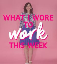 What I Wore To Work This Week | Easy Outfits