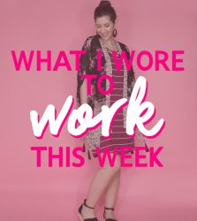 What I Wore To Work This Week | Red Hot