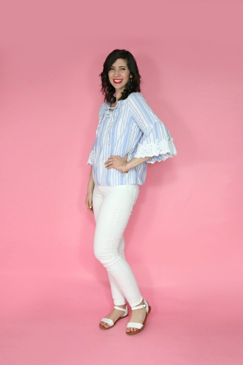 hannah rupp blog maurices stylist summer outfits creative work