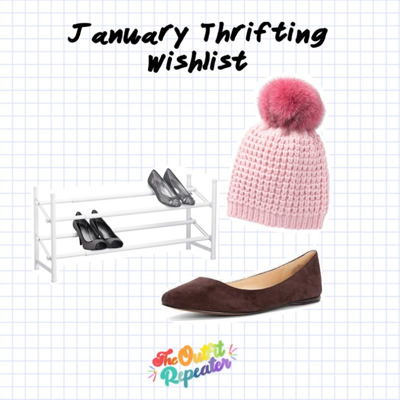 december thrift store haul video 2019 2020 hannah rupp the outfit repeater